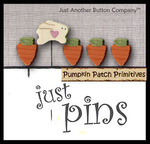 Carrot Patch Polymer Clay Pin Set