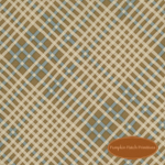 Remembrance Plaid Tan Teal