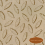 Remembrance Brown Ovals on Tan