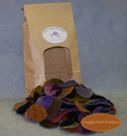 "1-1/2"" - 1"" Dark Woolen Pennies"