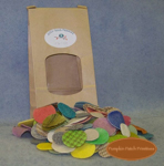 "1-1/2"" - 1"" Lights and Brights Woolen Pennies"